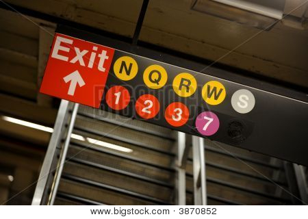 Subway Lines, New York