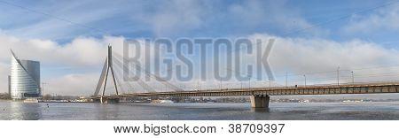 Riga Vansu Bridge