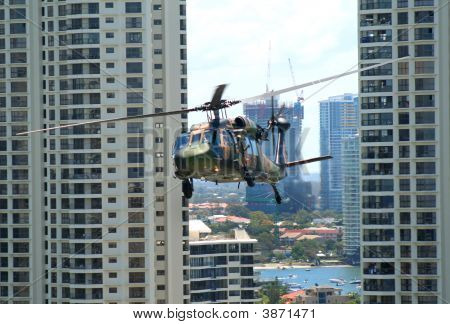Blackhawk Chopper Surfers Paradise