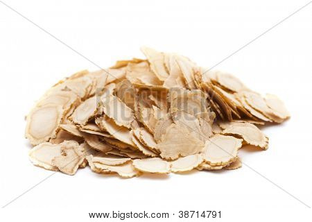 sliced ginseng