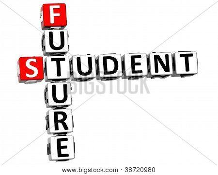 3D Student Future Crossword