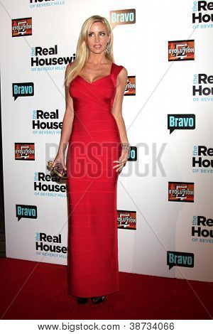 "LOS ANGELES - OCT 21:  Camille Grammer arrives at  ""The Real Housewives of Beverly Hills"" Season three premiere red carpet event at Roosevelt Hotel on October 21, 2012 in Los Angeles, CA"