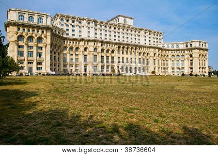 Palace Of The Parliament, Bucharest Romania