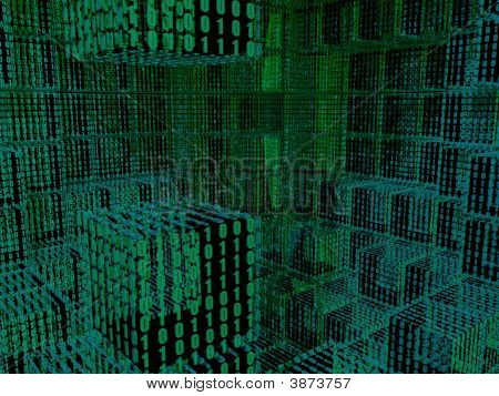 Binary Cubes Background