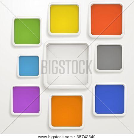 Abstrakt Farbfelder. Vorlage für einen text