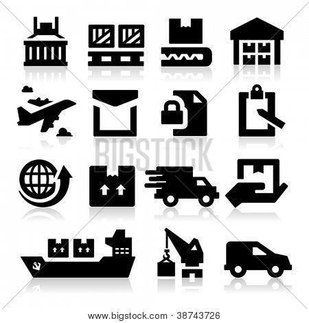Iconos de envío