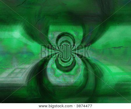 grün Kupfer vortex