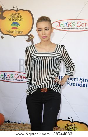 LOS ANGELES - OCT 21: Christian Serratos at the Camp Ronald McDonald for Good Times 20th Annual Halloween Carnival at the Universal Studios Backlot on October 21, 2012 in Los Angeles, California