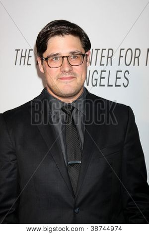 LOS ANGELES - OCT 22:  Rich Sommer arrives at  the Paley Center for Media Annual Los Angeles Benefit at The Lot on October 22, 2012 in Los Angeles, CA