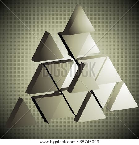Abstract hi-tech background. Vector illustration eps 10