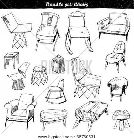 doodle set : furniture