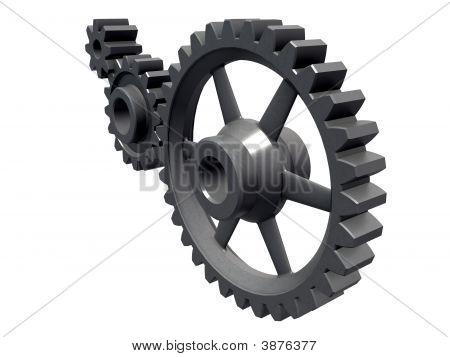 Three Cogwheels Detail