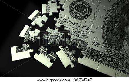 Incomplete Dollar Puzzle