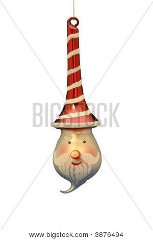 Santa Claus Christmas Ornament
