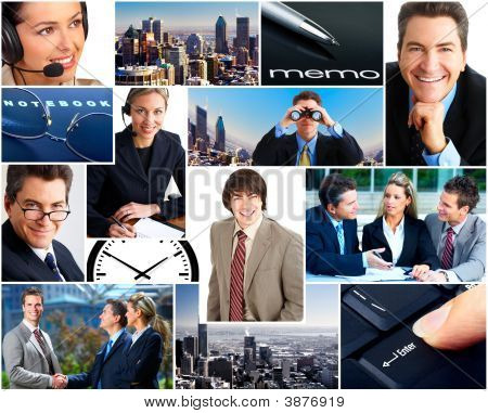 Pessoas de negócios