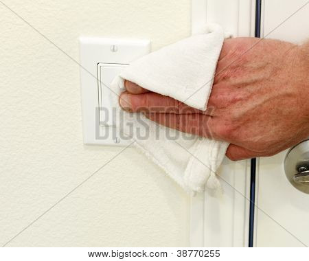 Cleaning A Light Switch