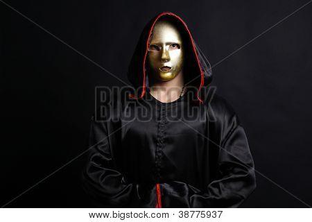 Mönch mystische Maske