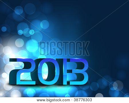 Ansprechenden 2013-Happy New Year-Hintergrund. EPS 10
