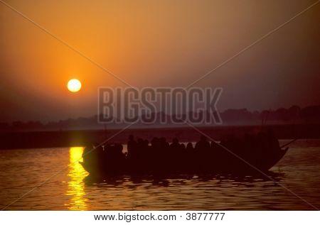 Sunrise, Ganges River