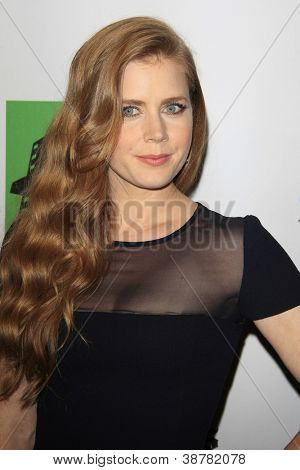 BEVERLY HILLS - OCT 22: Amy Adams at the 16th Annual Hollywood Film Awards Gala at The Beverly Hilton Hotel on October 22, 2012 in Beverly Hills, California