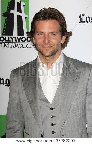 BEVERLY HILLS - OCT 22: Bradley Cooper at the 16th Annual Hollywood Film Awards Gala at The Beverly Hilton Hotel on October 22, 2012 in Beverly Hills, California