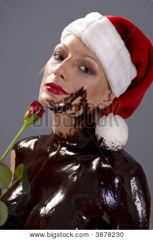 Chocolate Santa Rose