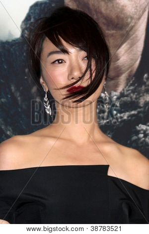LOS ANGELES - OCT 24:  Doona Bae arrives at the