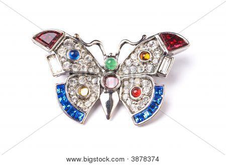 Silver Butterfly