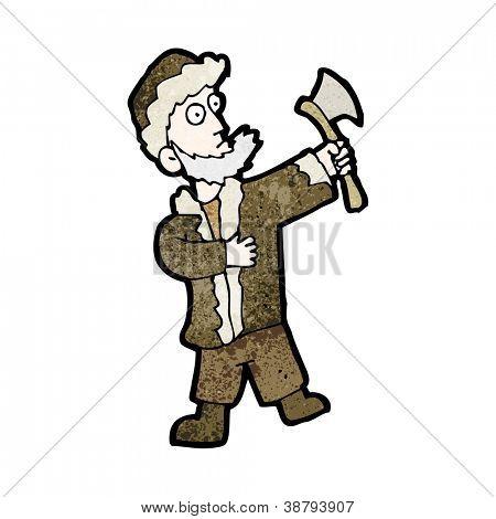 Cartoon-woodsman