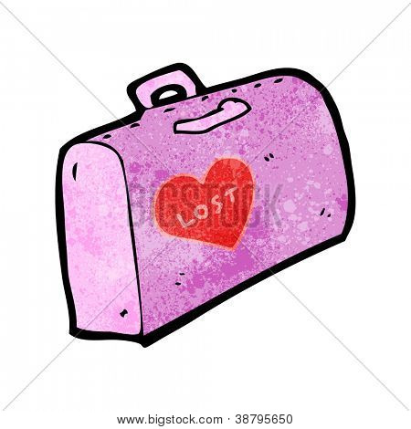 cartoon lost baggage