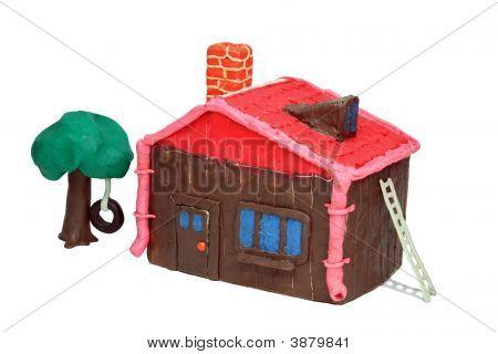 La casa de plastilina