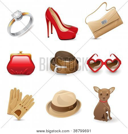 Fashion women's accessories set