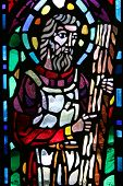 Christ Stained Glass Window