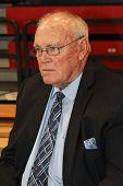 NEW YORK-OCT. 23: St. John's Red Storm special assistant Gene Keady during media day on October 23,