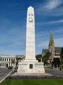 Monument Towncentre Oamaru poster