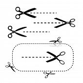 picture of scissors  - Scissors Template - JPG