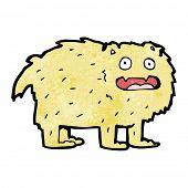 cartoon furry beast poster
