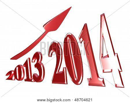 2014 Stock Photo