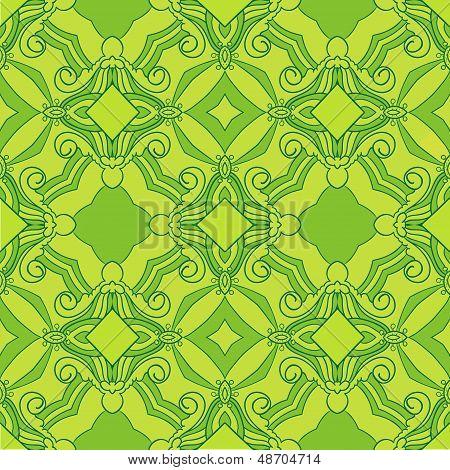 Sun Green Theme Pattern