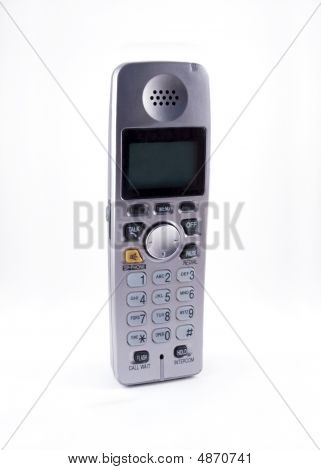 Cordless Phone - White Background