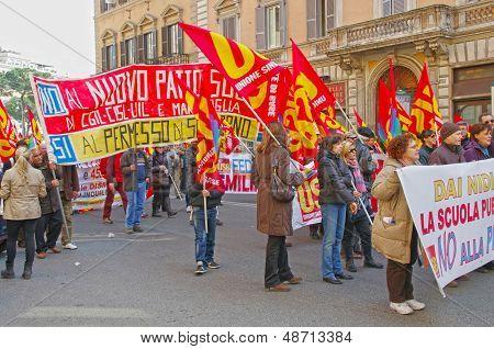 Public Workers Strike