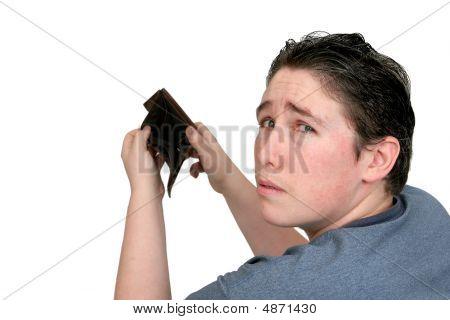 Empty Wallet Man