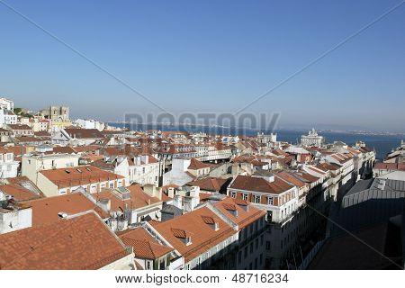 Downtown, Lisbon, Portugal