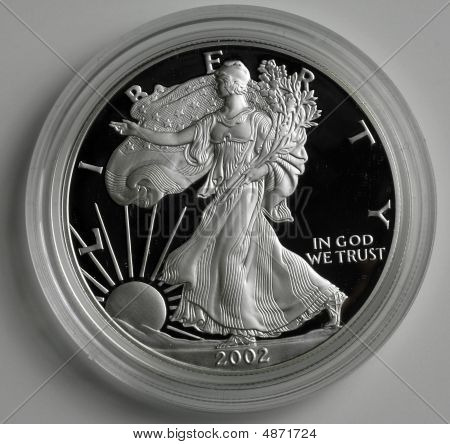 Silber Eagle Proof Coin