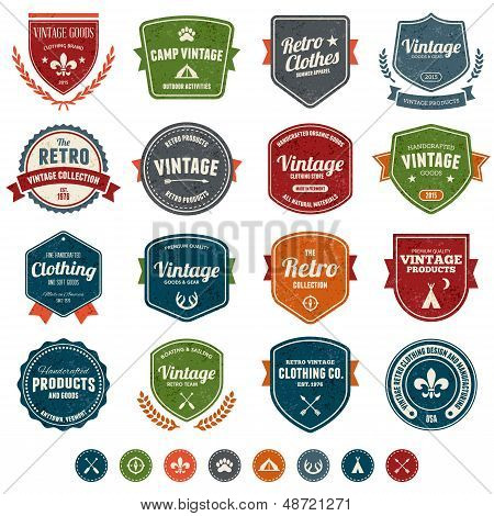 Vintage Badges