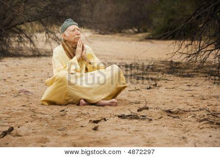 Gurú en el desierto
