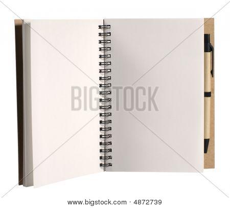 Veranstalter mit Stift