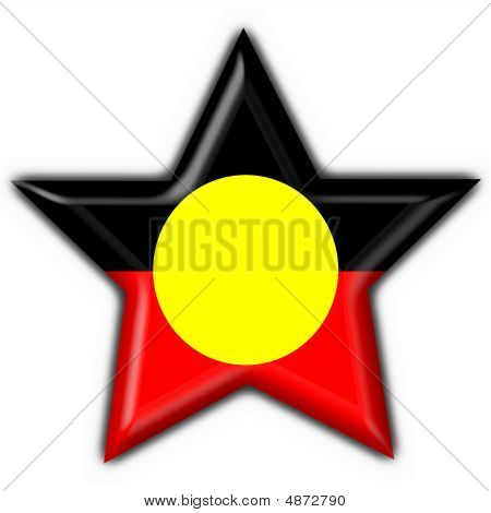 3D Flag Map Of Australian Aboriginal