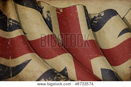 Union Jack 1606�1801 (the King's Colours) Old Paper