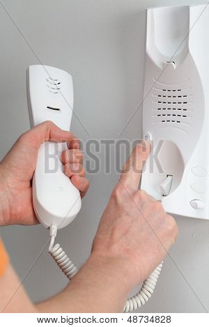 Picking Up The Entry Phone